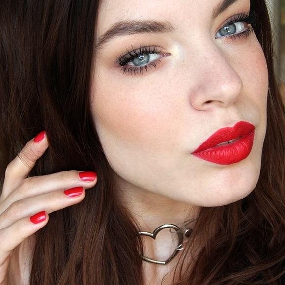 Kat Von D Other - Kat Von D Studded Kiss Lipstick - Underage Red 💋
